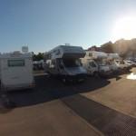 Parcheggio per camper e roulottes a Cagliari