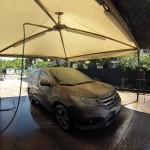 Lavaggio auto al centro di Cagliari