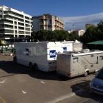 Parcheggio custodito per veicoli cmmerciali