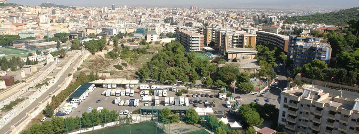 Benvenuti da Camper Cagliari Park