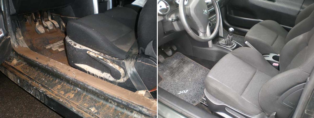 Acqua e fango hanno invaso la tua vettura?